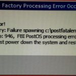 RedScreen!!! – Factory Processing Error Occurred